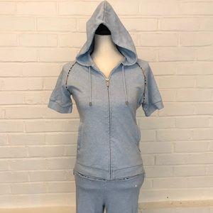 Authentic Burberry Golf shortsleeved hoodie
